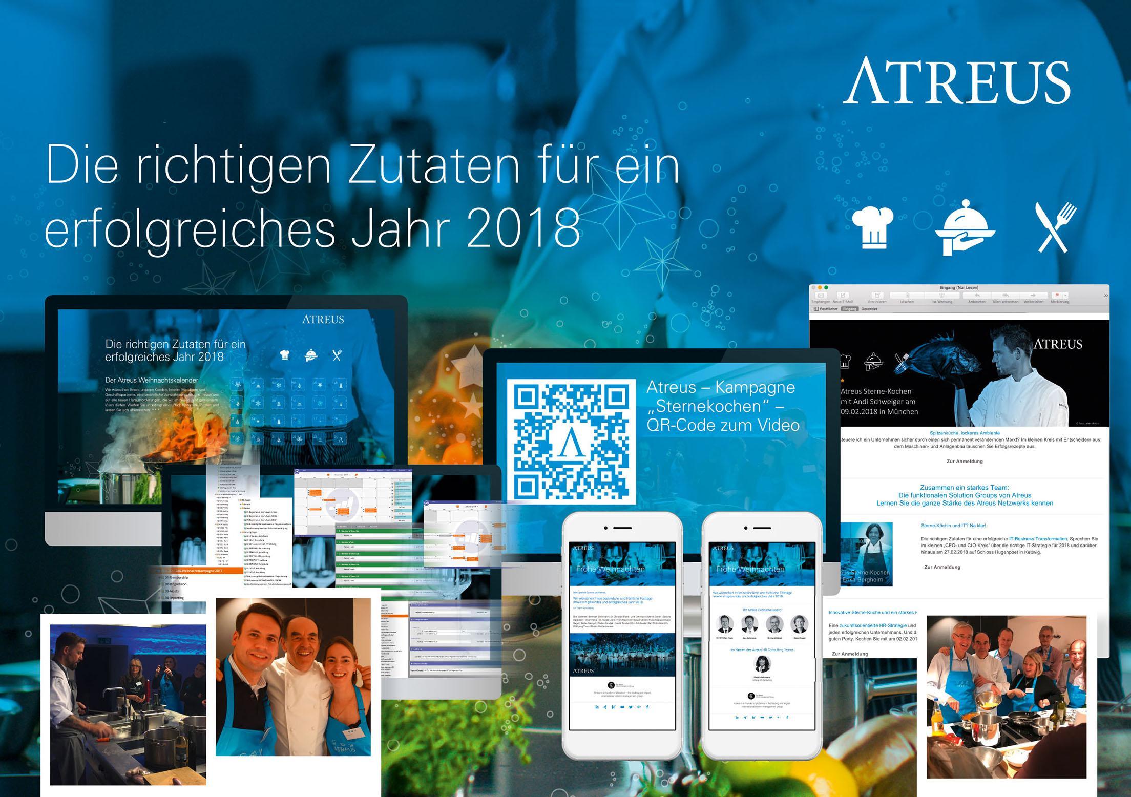 Kleiner Weihnachtskalender.Atreus Sterne Kochen 2018 Special Mention Brand Creation